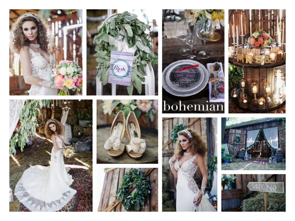 collage. BS bohemian_www.RoyalWedding.pl