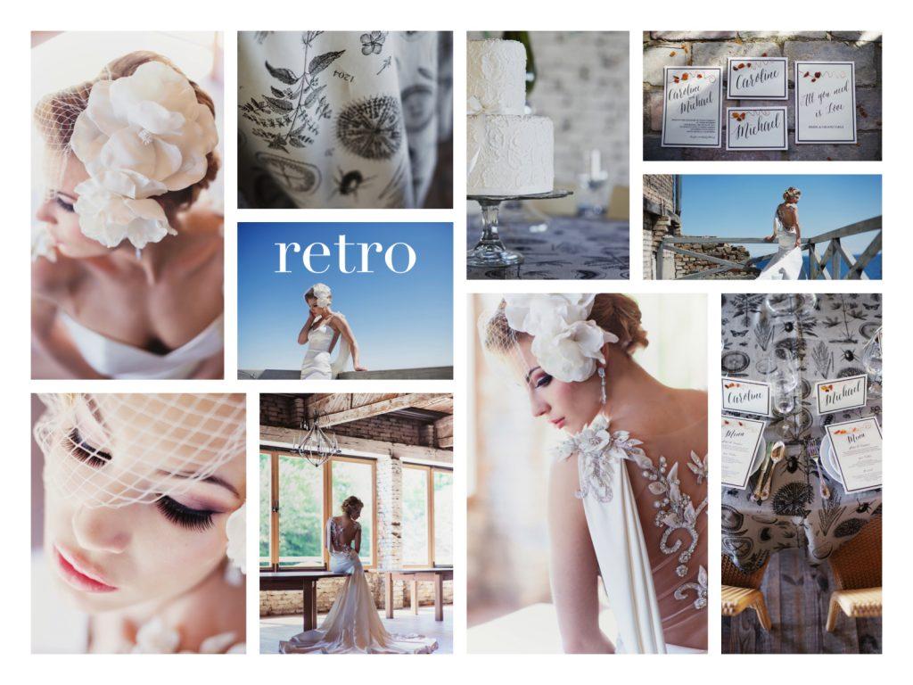 collage. BS retro_www.RoyalWedding.pl
