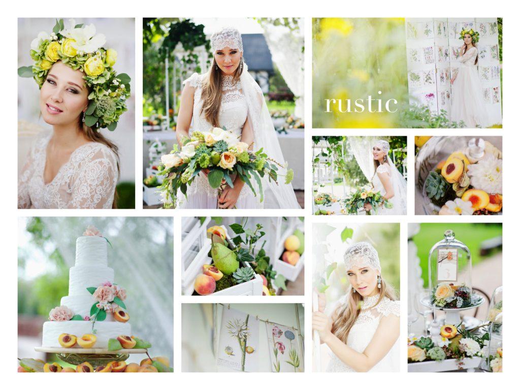 collage. BS rustic_www.RoyalWedding.pl