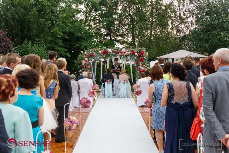Ślub w plenerze w stylu boho