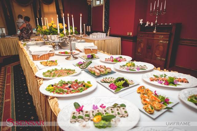 Menu i jedzenie podczas wesela