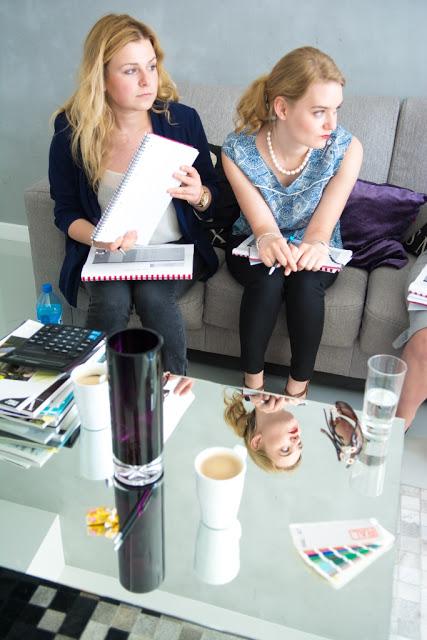 Uczestniczki szkolenia konsultant ślubny w trakcie słuchania