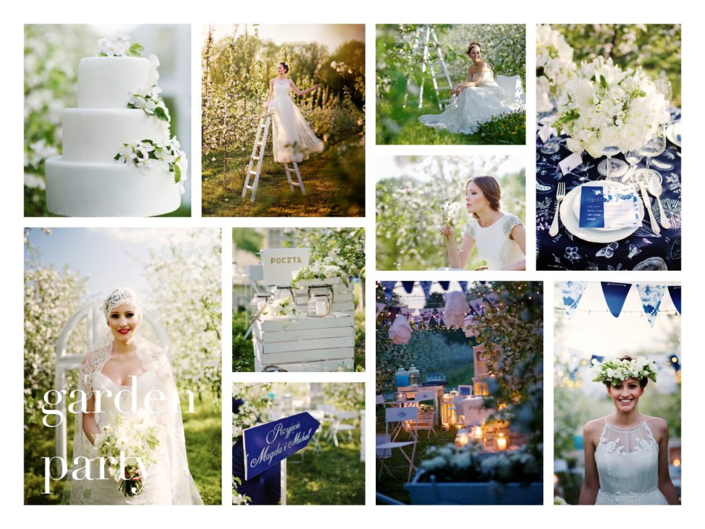 collage. BS garden party_www.RoyalWedding.pl