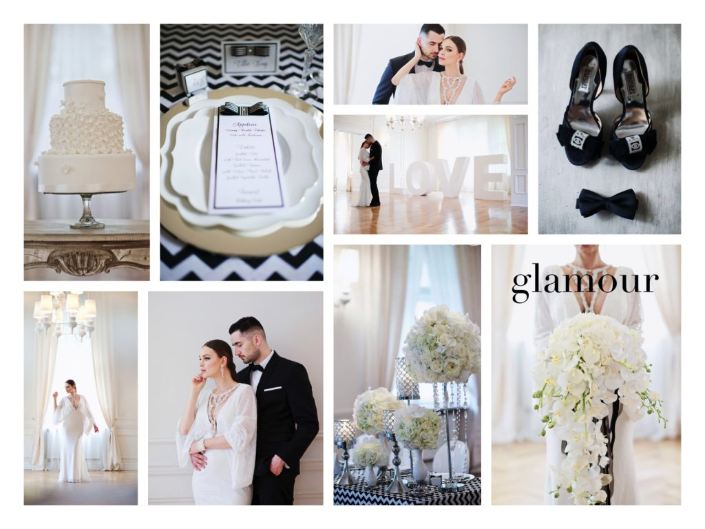 collage. BS glamour_www.RoyalWedding.pl