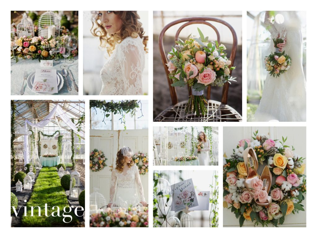 collage. BS vintage_www.RoyalWedding.pl